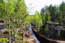 Гирвас Поор-порог лесосплавной лоток