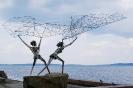 Петрозаводск Рыбаки скульптор Рафаэль Консуэгра (США) Дулут-Петрозаводску