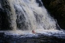 Водопад Юканкоски  высота 18-19м