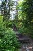 Лестница на гору Кухавуори в парке