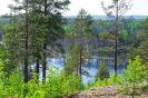 Озеро Валкеалампи на полуострове Кулхонниеми