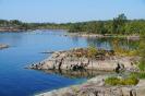 Север Ладожского озера побережье полуострова Хунукка